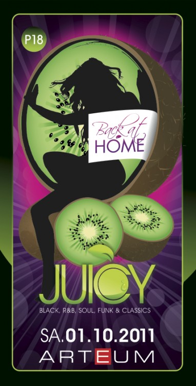 Flyer JUICY | back at home