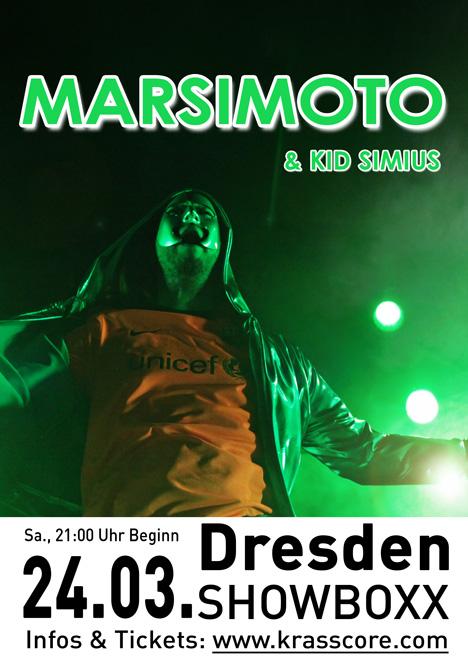 Flyer MARSIMOTO ***AUSVERKAUFT!***