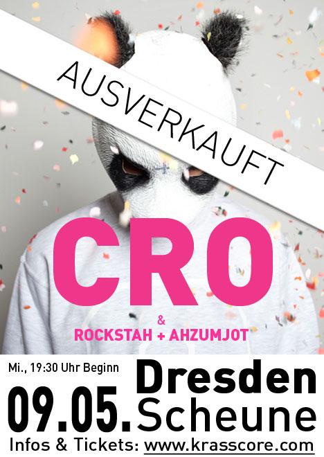 Flyer CRO, ROCKSTAH & AHZUMJOT ***AUSVERKAUFT!***