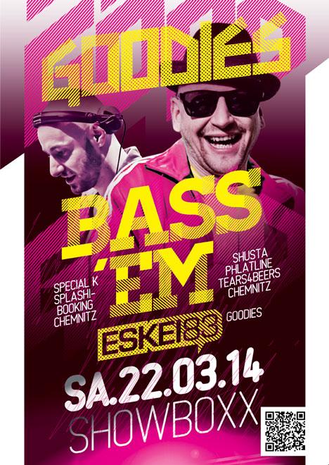 Flyer GOODIES feat. BASS EM & ESKEI83