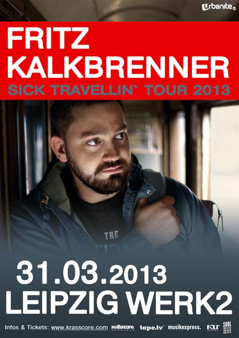 Flyer FRITZ KALKBRENNER ***AUSVERKAUFT!***