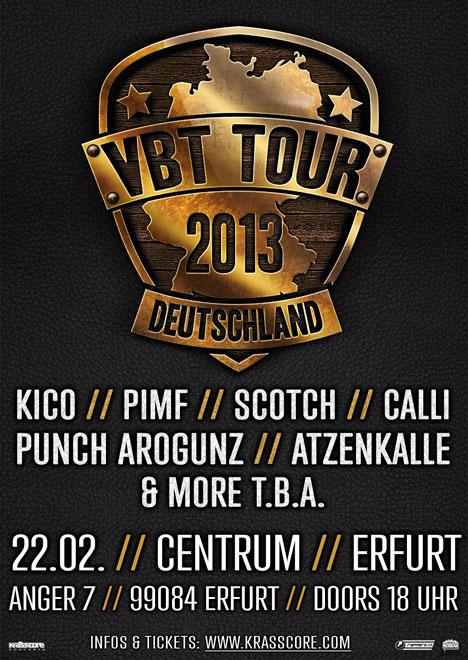 Flyer VBT Tour 2013
