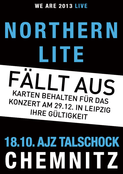 Flyer NORTHERN LITE ***FÄLLT AUS***