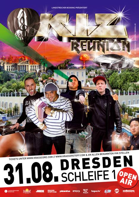 Flyer K.I.Z. + MACH ONE & SCHWESTA EWA ***AUSVERKAUFT!!!***