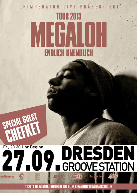 Flyer MEGALOH + Special Guest CHEFKET !