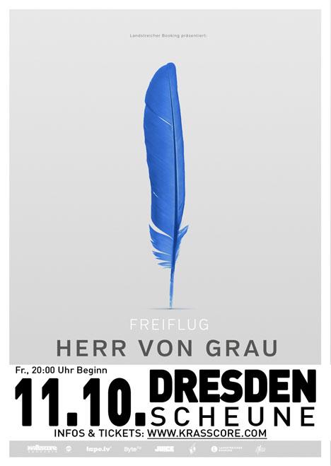 Flyer HERR VON GRAU