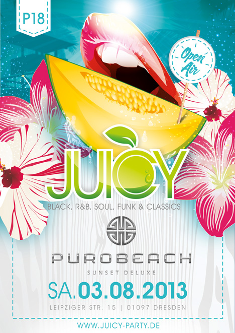 Flyer JUICY ***OPEN AIR***
