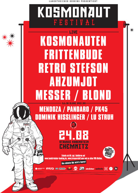 Flyer KOSMONAUT Festival