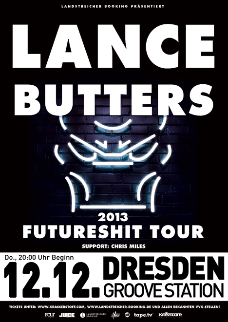 Flyer LANCE BUTTERS