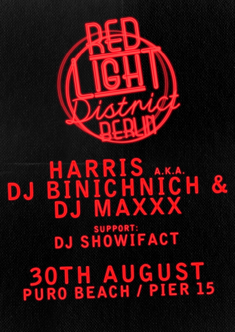 Flyer RED LIGHT District