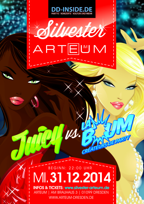 Flyer JUICY meets LA BOUM