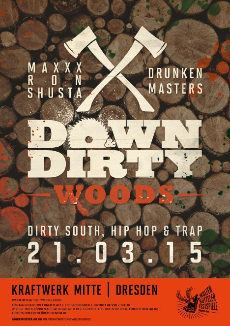 Flyer Down & Dirty Woods