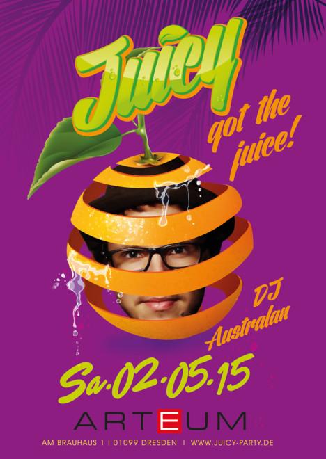 Flyer JUICY