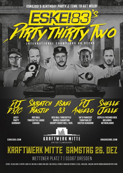 Flyer ESKEI83´s Dirty Thirty2