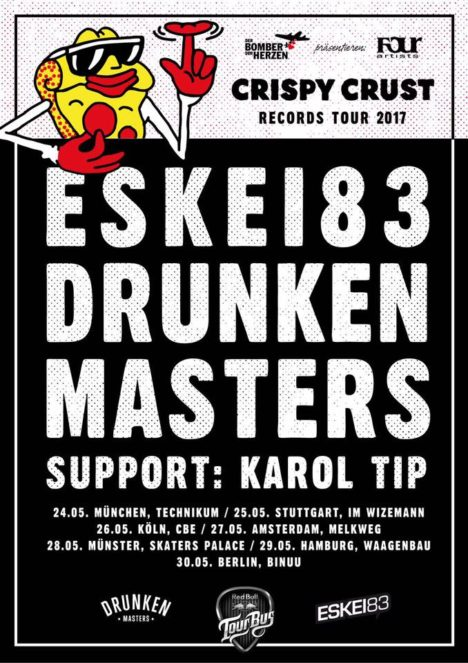 Flyer Drunken Masters & Eskei83