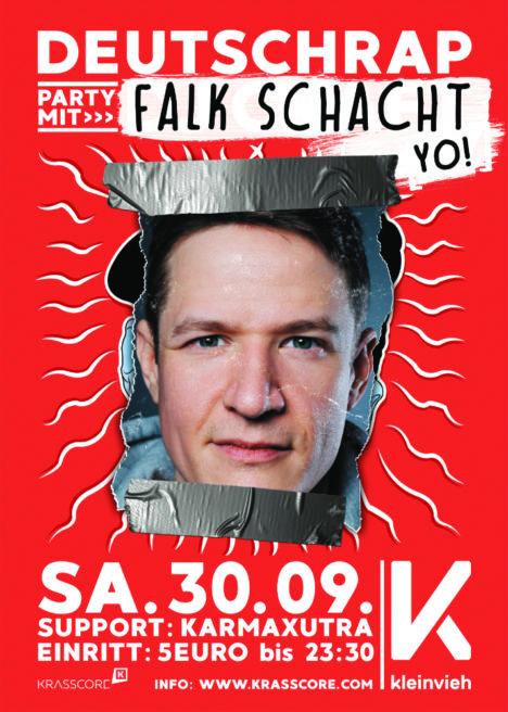 Flyer Deutsch Rap