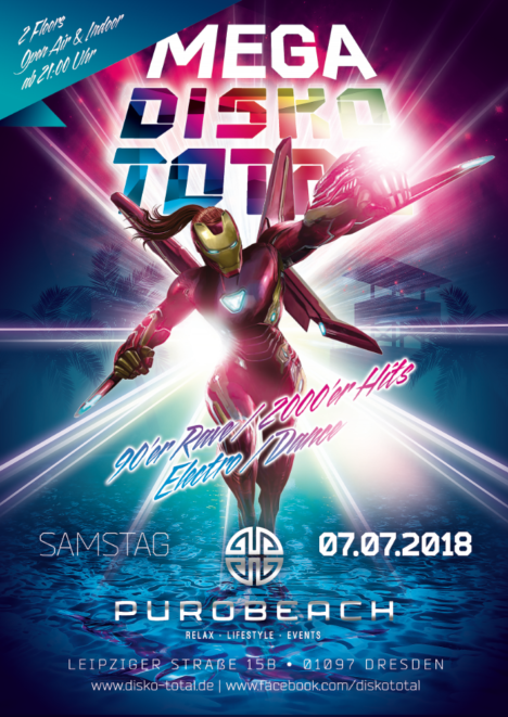 Flyer MEGA DISKO TOTAL