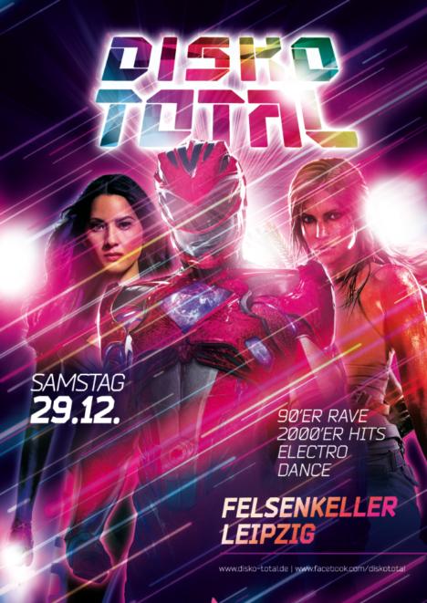 Flyer DISKO TOTAL Leipzig