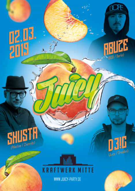 Flyer JUICY PARTY