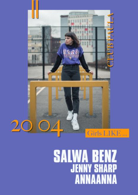 Flyer Girls LIKE … Salwa Houmsi